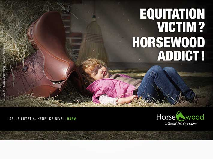 Horsewood; Campagne publicitaire; 2012