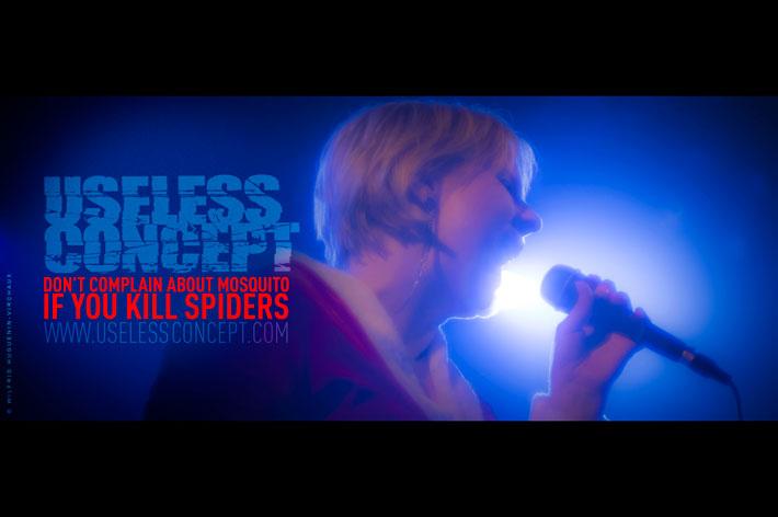 Useless Concept; Concert; Covent Garden Studios; 2014